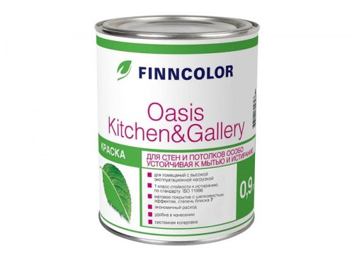 Краска Finncolor OASIS KITCHEN GALLERY (А) 9л